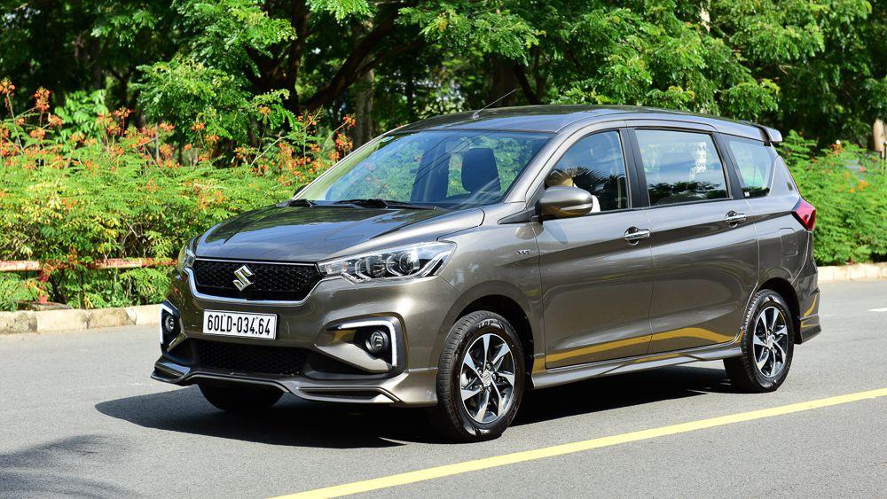 gia xe suzuki ertiga 2020 2021 2022 xetot - 10 mẫu xe ô tô đáng mua nhất trong tầm giá 600 triệu đồng