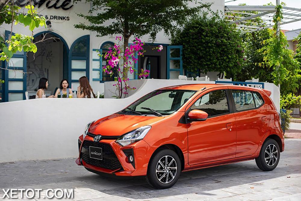 gia xe toyota wigo 2020 2021 xetot com 1 - 5 mẫu xe hạng A có mức tiêu thụ nhiên liệu tiết kiệm nhất hiện nay