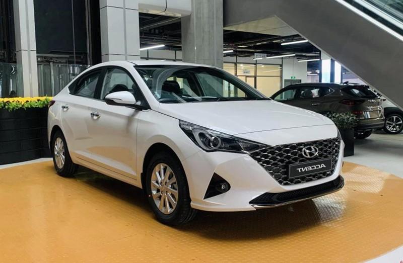 hyundai accent top 10 o to ban chay nhat thang 08 2021 800x523 1 - Top 10 xe bán chạy nhất tháng 08/2021: Sự vượt trội của Vinfast Fadil