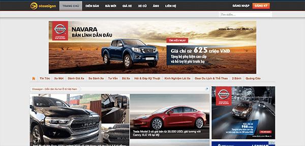 otosaigon com - Top 10 trang web mua bán xe ô tô cũ uy tín và hiệu quả