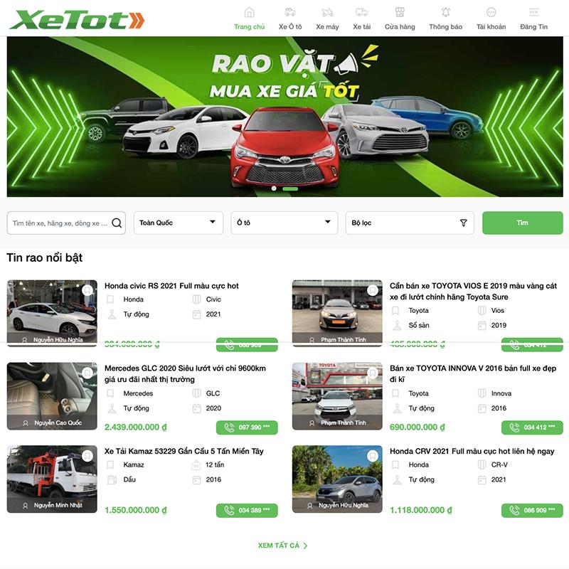 xetot 2021 08 09 06 40 40 - Top 10 trang web mua bán xe ô tô cũ uy tín và hiệu quả
