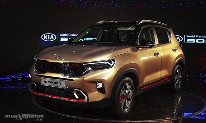 gia xe kia sonet 2020 2022 tai an do muaxegiatot vn - Toyota Raize 2022 và Kia Sonet 2022: Xe SUV 5 chỗ cỡ nhỏ nào nên mua?