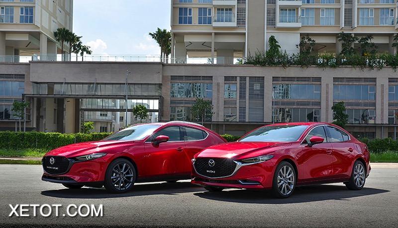 gia xe mazda 3 2021 hatchback sedan muaxegiatot vn - So sánh Kia K3 và Mazda 3: Đâu là sự lựa chọn tốt?