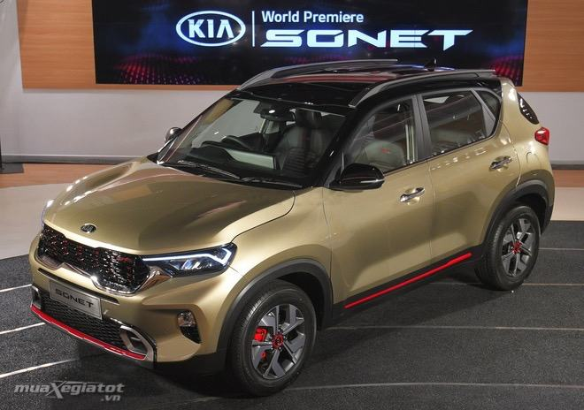 ra mat kia sonet 2020 2022 tai an do muaxegiatot vn - Toyota Raize 2022 và Kia Sonet 2022: Xe SUV 5 chỗ cỡ nhỏ nào nên mua?